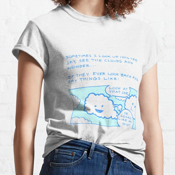 Clouds Comic Classic T-Shirt