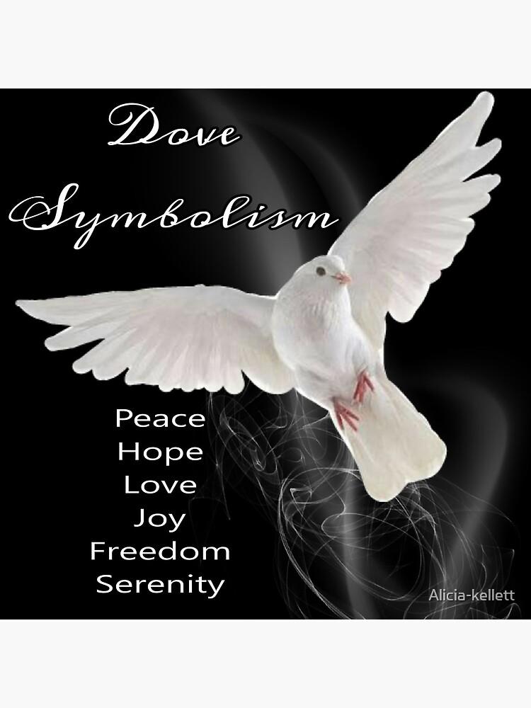 Dove Symbolism Totem Spirit Guide by Alicia-kellett
