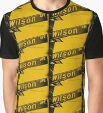 Wilson Avenue F8C200 Black Pasadena CA by MWP Graphic T-Shirt