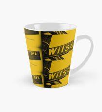 Wilson Avenue F8C200 Black Pasadena CA by MWP Tall Mug