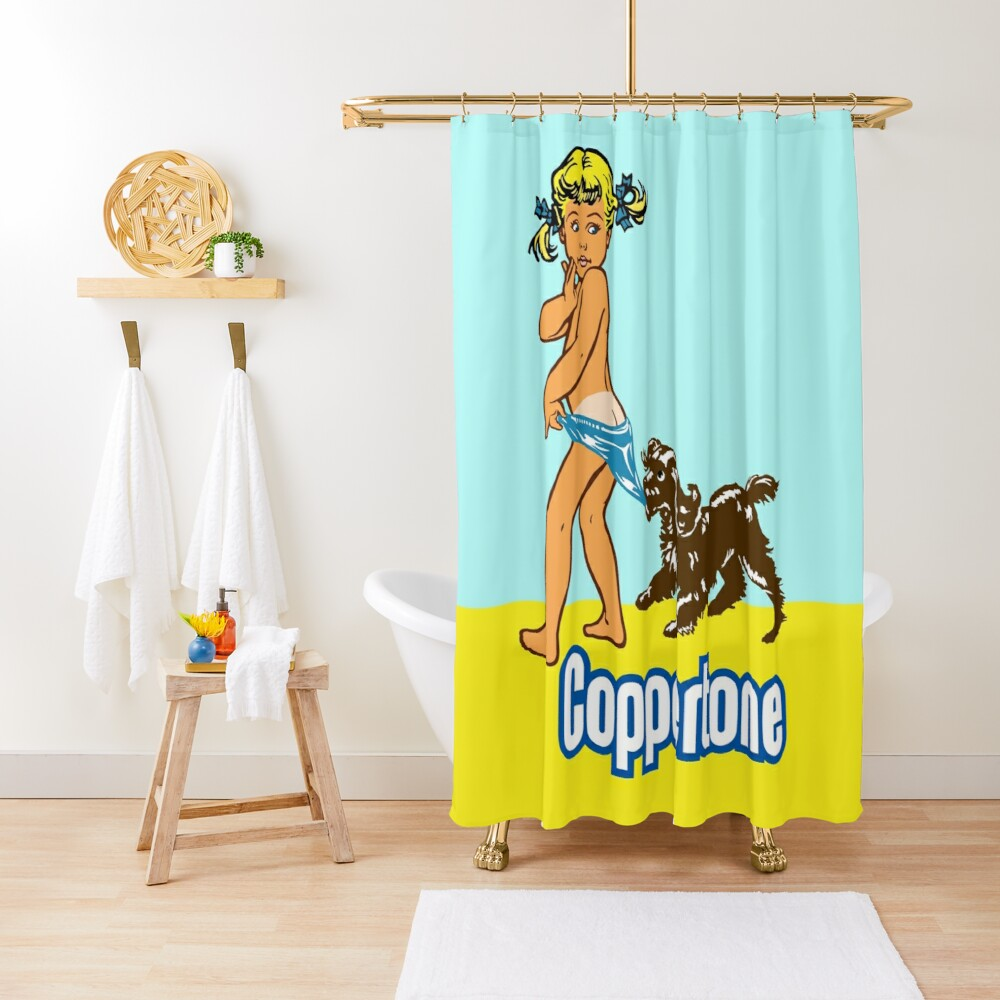 COPPERTONE Shower Curtain
