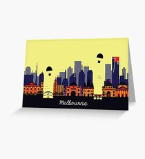 Lovely Melbourne Greeting Card