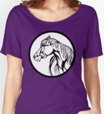 Sharpie Horses: Annie Women's Relaxed Fit T-Shirt