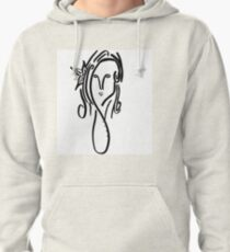 Lady of the Flower Pullover Hoodie