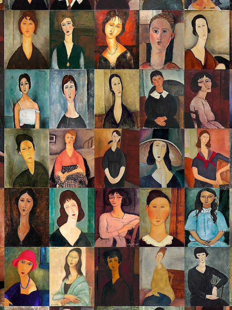 Amadeo Modigliani by Montage-Madness