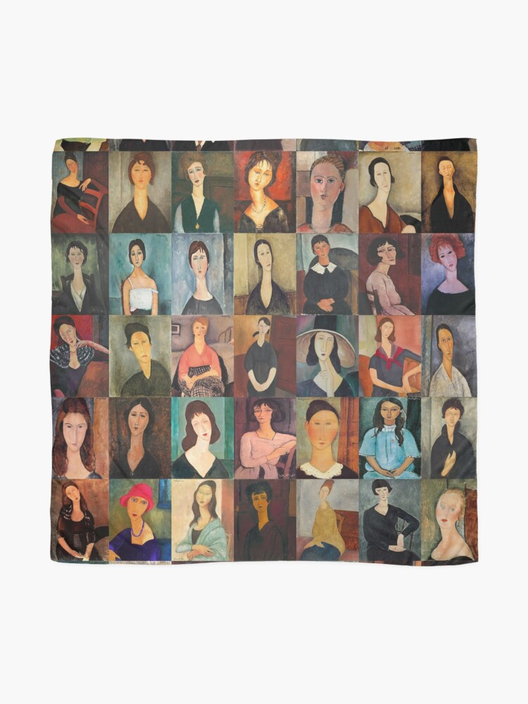 Alternate view of Amadeo Modigliani Scarf