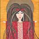 Mary Magdalene - High Priest in the Order of Melchizedek by LauriAnnLumby