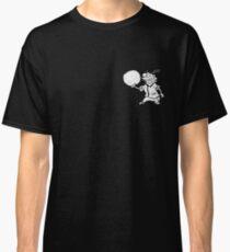 Camiseta clásica Jawbreaker Eddy (blanco y negro)