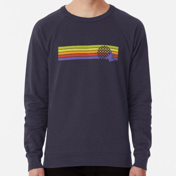 Retro Dragon Stripes Lightweight Sweatshirt