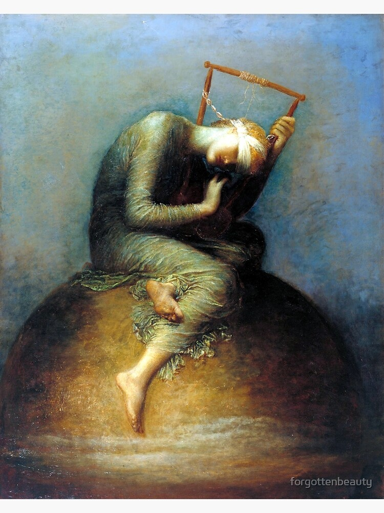 Hope - George Frederic Watts by forgottenbeauty