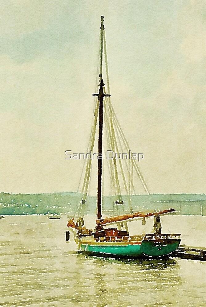 Hudson River Sloop, Beacon, NY by Sandra Dunlap