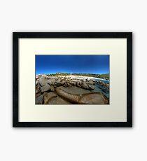 Bettys Beach, WA Framed Print