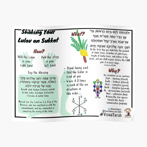 How to Shake Your Lulav Poster