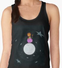 Baby Monkey Rides A Pig Backwards On The Moon Women's Tank Top