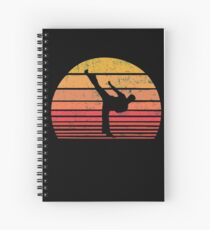 Vintage Sundown Martial Arts TaeKwonDo Karate Spiral Notebook