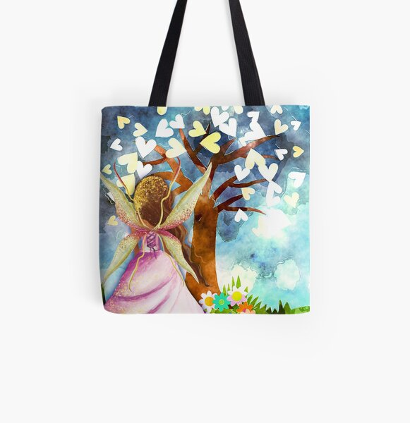 Fairy Tale Wishes All Over Print Tote Bag