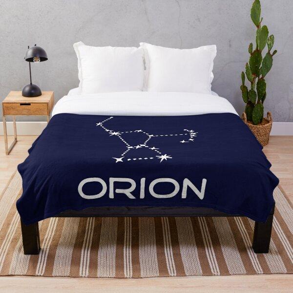 Orion-constellation Throw Blanket