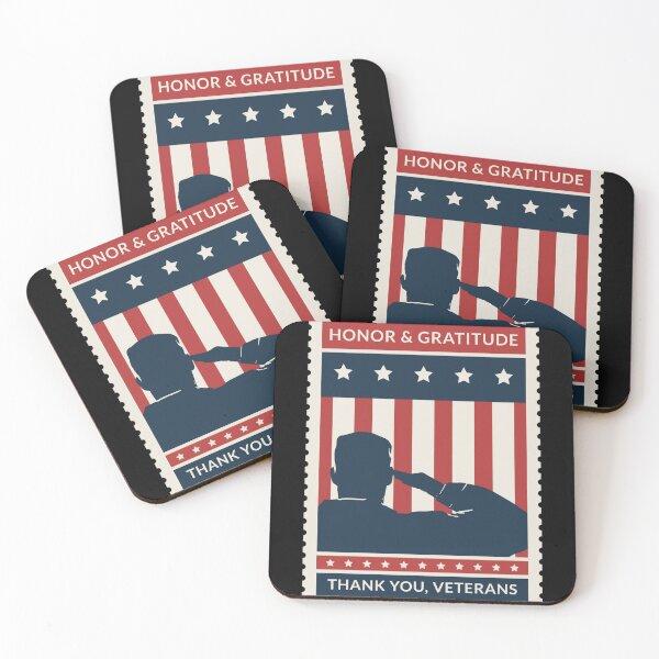 Veterans Coasters (Set of 4)