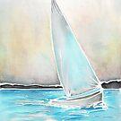 Evening sail on the bay by TrueInsightsNZ