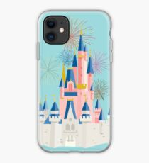 cinderella castle abstract 2 iphone case
