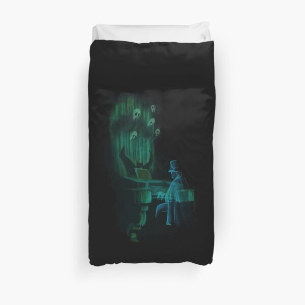 The Haunted Song Duvet Cover