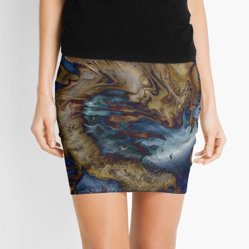 Sea Serpent Swimming Mini Skirt