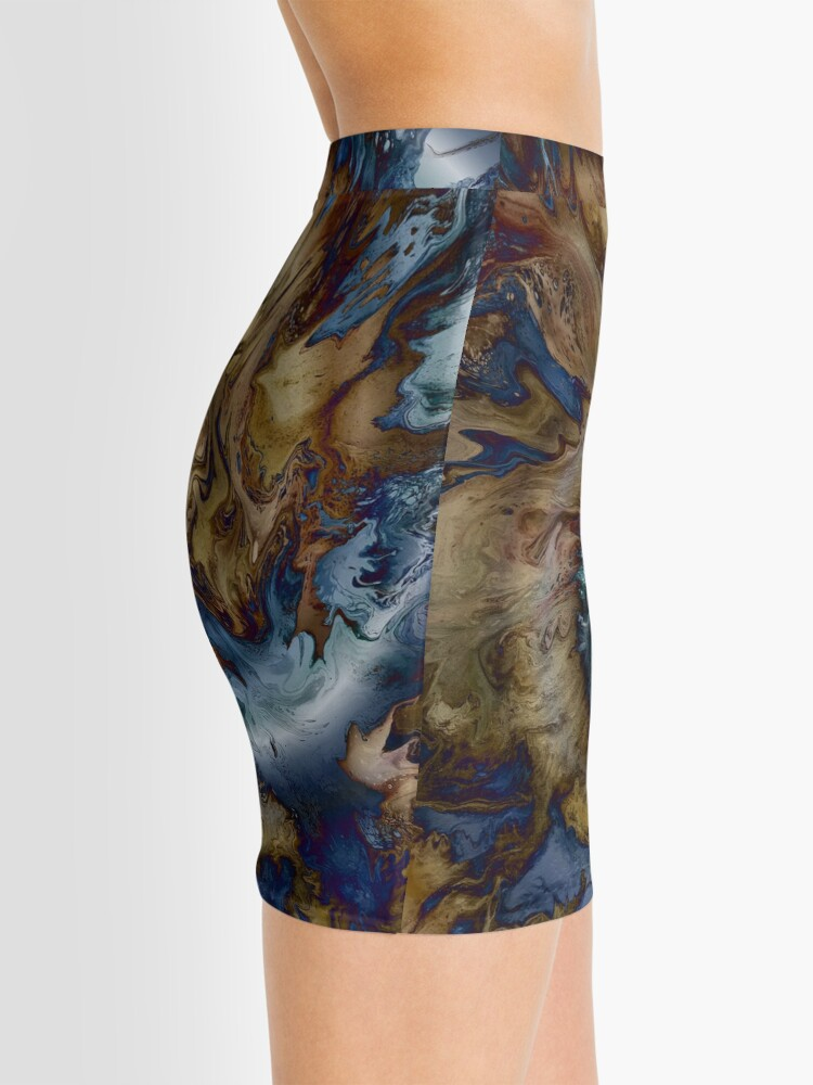 Alternate view of Sea Serpent Swimming Mini Skirt