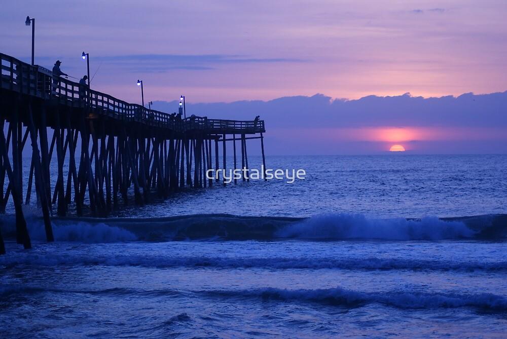 Avalon Pier Sunrise by crystalseye