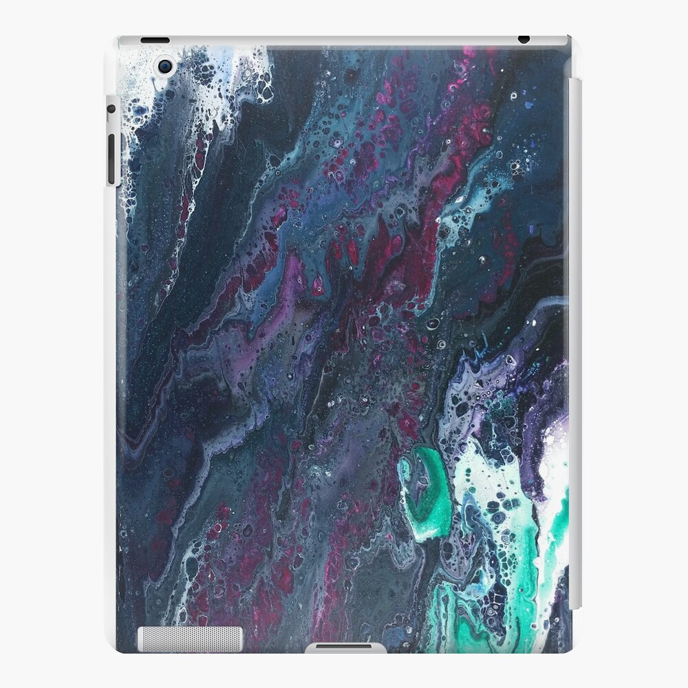 Skipping Between Raindrops iPad Case & Skin
