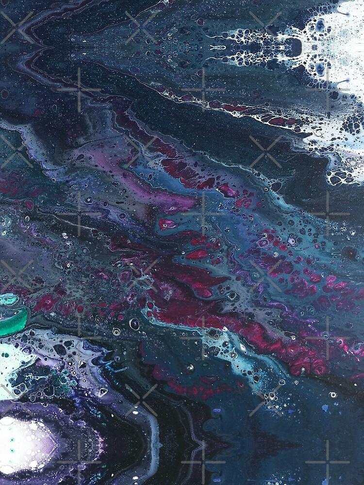 Skipping Between Raindrops by kerravonsen