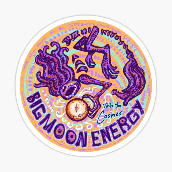 Big Moon Energy (1) Sticker