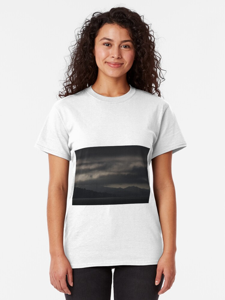 Alternate view of Dark Clouds over the San Francisco North Bay Classic T-Shirt