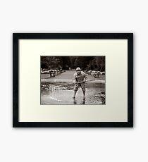 Shrimper Framed Print