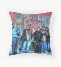 Peace Baby Throw Pillow