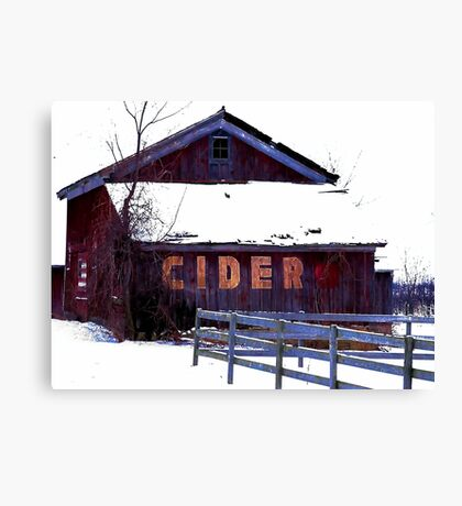 The Cider House Canvas Print