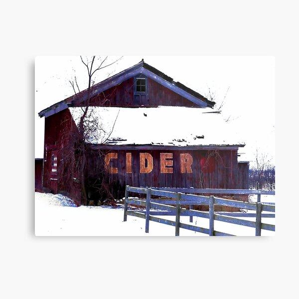 The Cider House Metal Print