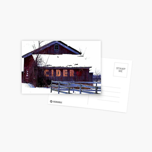 The Cider House Postcard
