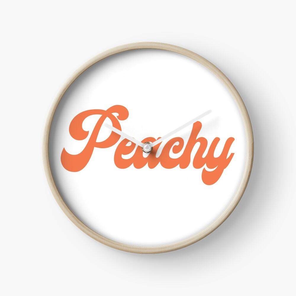 Peachy Clock