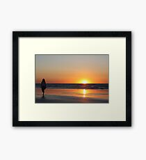 Cable Beach Sunset Framed Print