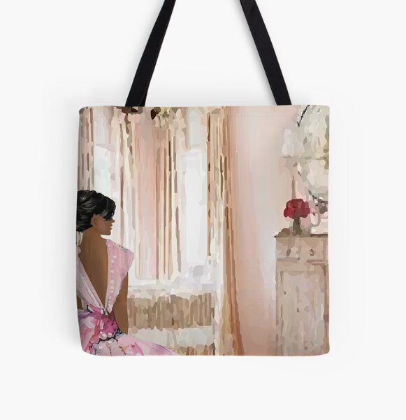 Pretty in Pink  All Over Print Tote Bag