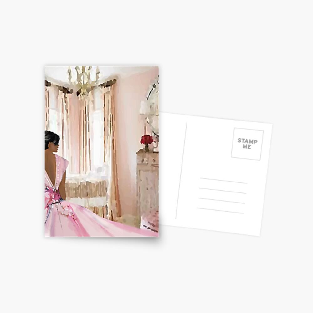 Pretty in Pink  Postcard