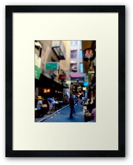 Off Flinders Lane by Vince Russell
