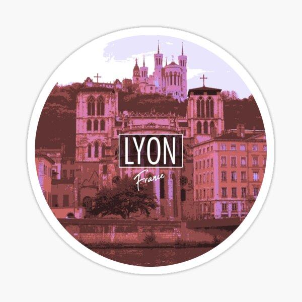 Lyon - France Sticker