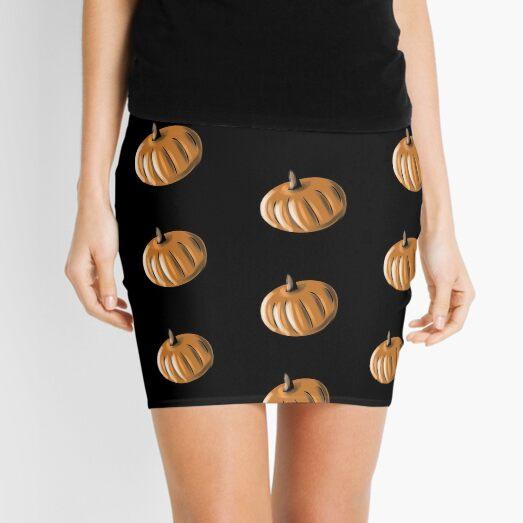 Pumpkin #06 Mini Skirt