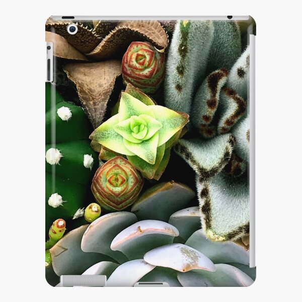 Wild and Wooly Succulent Garden From Mars  iPad Snap Case