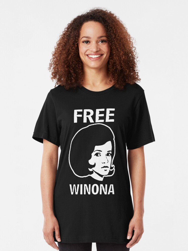 Free Winona Ryder Depp Brooklyn Hip Tmz Nyc Hollywood Celebrity T Shirt By Andin97 Redbubble