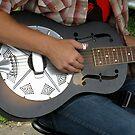 Woody Pines Resonator Guitar by Hank Eder