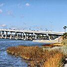Ormond Beach Bridge by Deborah  Benoit