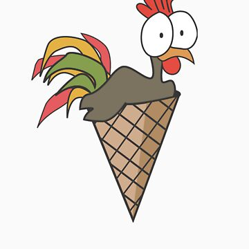 Eat My Cock.... in a Cone by Cock-a-doodle