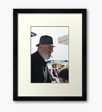 Technique Framed Print